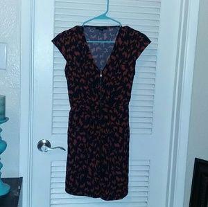 Forever 21 1940's Inspired Print Dress